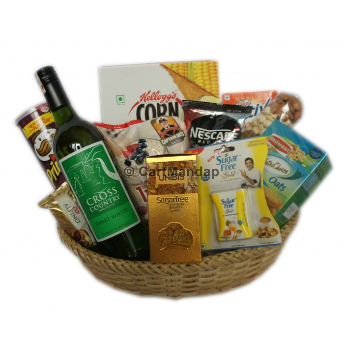 Send gifts to nepal sugar free gift basket negle Images