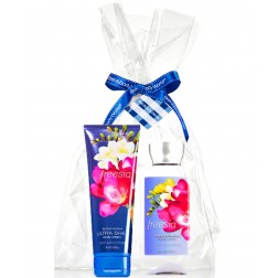 Body & Bath Works - Freesia Body Cream and Body Lotion Gift Pack
