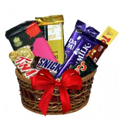 Chocolates Gift Basket