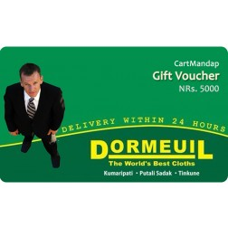 Dormeuil Clothing Gift Voucher NRs 5000