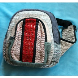 Large Allo Cotton Fanny Pack