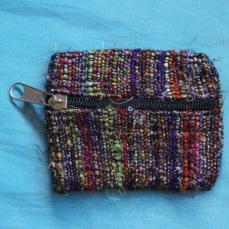 Multicolor Silk Jewelry Bag